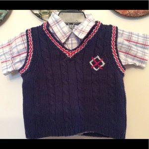 BOYZ❣️ Shirt/SweaterVest Set ❣️12m
